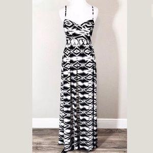 💐American Rag Maxi Dress Medium Boho Criss Cross